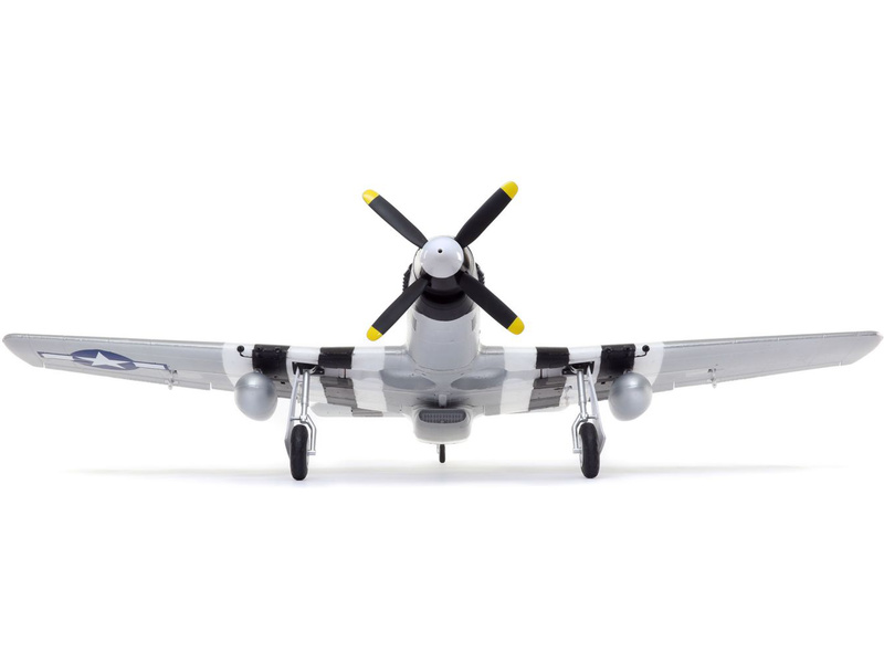 P-51D Mustang 1.2m SAFE Select BNF Basic