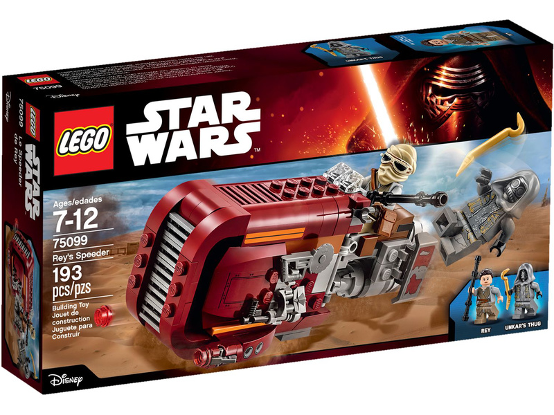 LEGO Star Wars - Reyin speeder