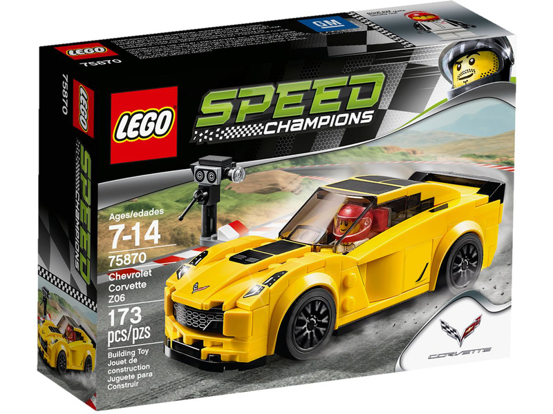 LEGO Speed Champions - Chevrolet Corvette Z06