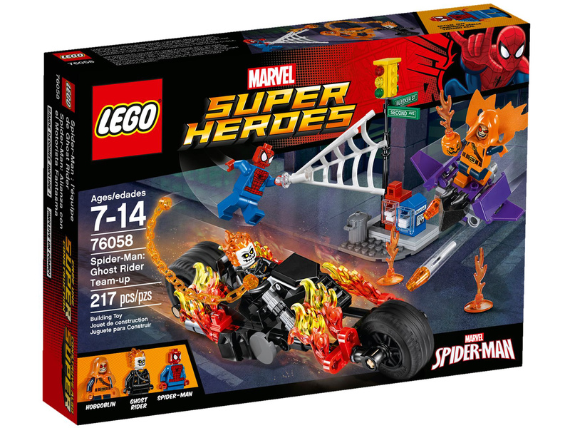 LEGO Super Heroes - Spiderman: Ghost Rider vstupuje do týmu