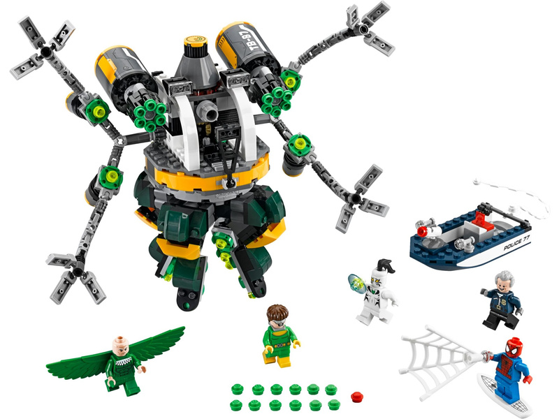 LEGO Super Heroes - Spiderman: Past z chapadel doktora Ocka