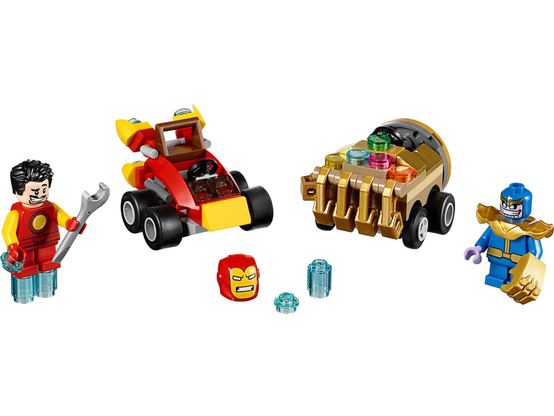 LEGO Super Heroes - Mighty Micros: Iron Man vs. Thanos