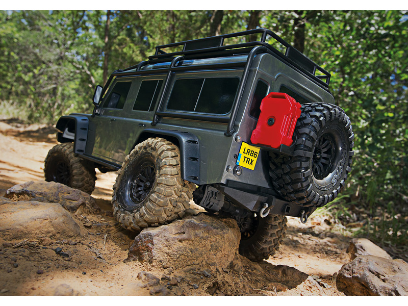 Traxxas TRX-4 Land Rover Defender 1:10 TQi RTR zelený