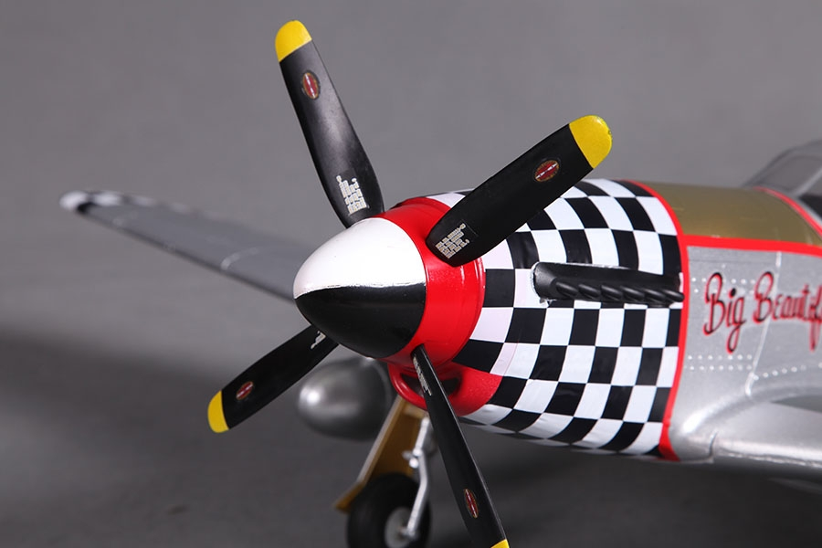 "P-51 Mustang V2 (Baby WB) ""Big Beautifull Doll"" ARF"