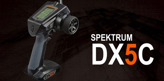 Spektrum DX5C DSMR